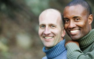 interracial male gay couple